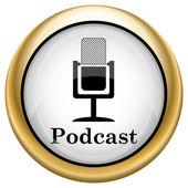 Podcast-symbol — Stockfoto