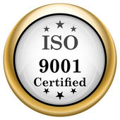 ISO9001 icon — Foto Stock