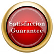 Foto de Stock  : Satisfaction guarantee icon