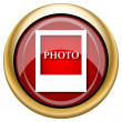 Photo icon — Stock Photo