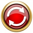Foto de Stock  : Reload two arrows icon