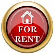Stock Photo: For rent icon