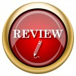 Stock Photo: Review icon