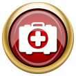 Medical bag icon — Stock Photo #33760873