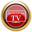 As seen on TV icon — Stock Photo #33761103