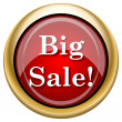 Big sale icon — Stock Photo #33761219