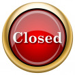 Stock Photo: Closed icon