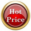 Hot price icon — Stockfoto
