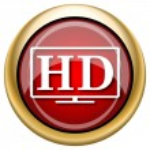 HD TV icon — Stock Photo #33761633