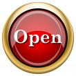 Foto de Stock  : Open icon
