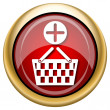 Add to basket icon — Foto de Stock