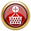 Add to basket icon — Stockfoto