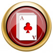 Foto de Stock  : Deck of cards icon