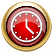 Clock icon — Stock Photo #33762625