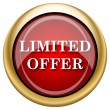 Stock Photo: Limited offer icon