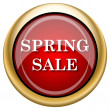 Spring sale icon — Photo