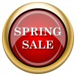 Spring sale icon — Stock Photo
