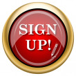 Foto de Stock  : Sign up icon