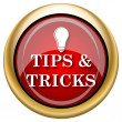 Tips and tricks icon — 图库照片