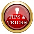 Stock Photo: Tips and tricks icon