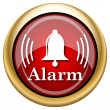 Alarm icon — Stock Photo #33763059