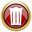 Bin icon — Stock Photo #33763117