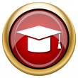 Foto de Stock  : Graduation icon