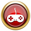 Stock Photo: Gamepad icon