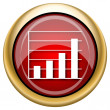 Stock Photo: Chart bars icon