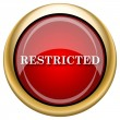 Stock Photo: Restricted icon