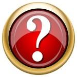Question mark icon — Stock Photo #33763841