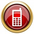 Stock Photo: Mobile phone icon