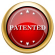Foto de Stock  : Patented icon