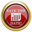 Save the date icon — Stock fotografie