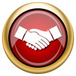 Stock Photo: Agreement icon
