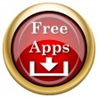 Stock Photo: Free apps icon