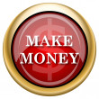 Make money icon — Stock Photo