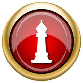 Chess icon — Stock Photo