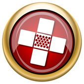 Medical patch icon — Stock fotografie