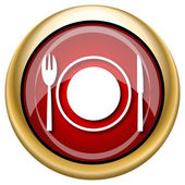 Restaurant pictogram — Stockfoto