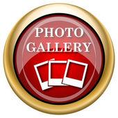 Photo gallery icon — Stock Photo
