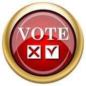 Vote icon — Stockfoto
