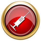Syringe icon — Stock Photo