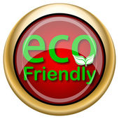 Eco Friendly icon — Stock Photo