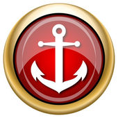 Anchor icon — Foto de Stock