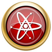 Atoms icon — Foto de Stock