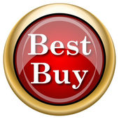 Best buy icon — Stok fotoğraf