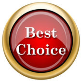 Best choice icon — Stock Photo