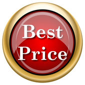 Best price icon — Stock Photo