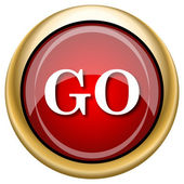 GO icon — Foto de Stock